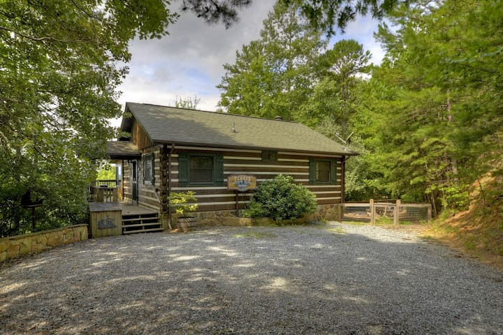 Cabin_Rentals_Timber_Ridge* - Morganton - 小屋