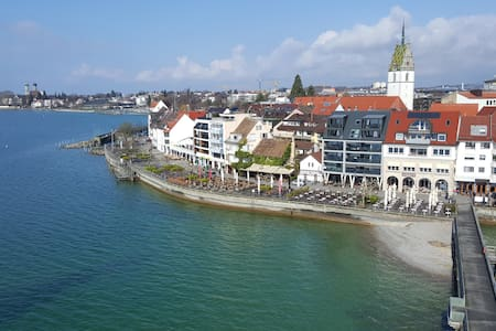 Privates Zimmer im Wunderland 3 gehmin zum Bahnhof - Friedrichshafen - Pis