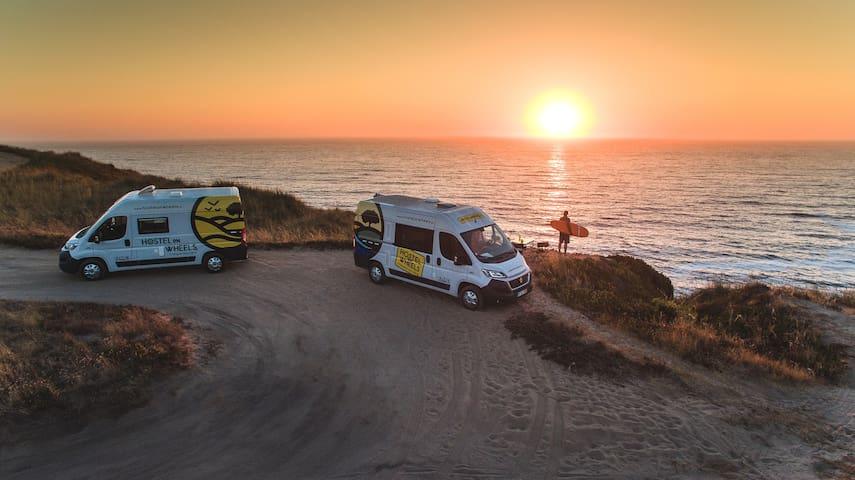 Hostel on Wheels Portugal Campervans #5 - Porto - Asuntoauto