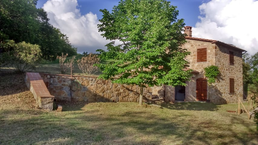 Rural Tuscany Rental Apartment,CASAGLIA Farm,Tatti