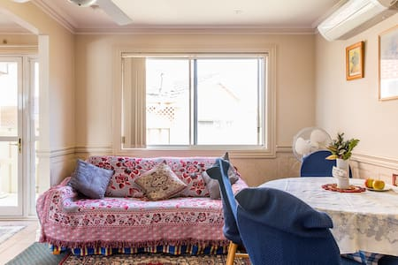 Sydney SWest Family Flat with 1 or 2Br w/parking