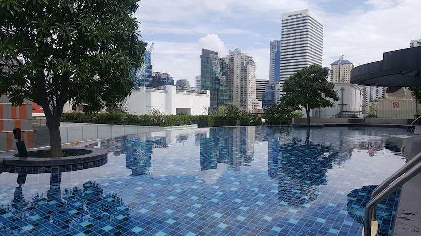 Modern Studio@ BTS Nana,Asok アソーク駅 한인타운 인접 - Bangkok - Condo