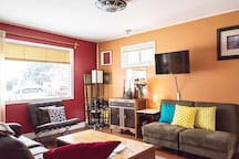 The house is alive with color in every room.
