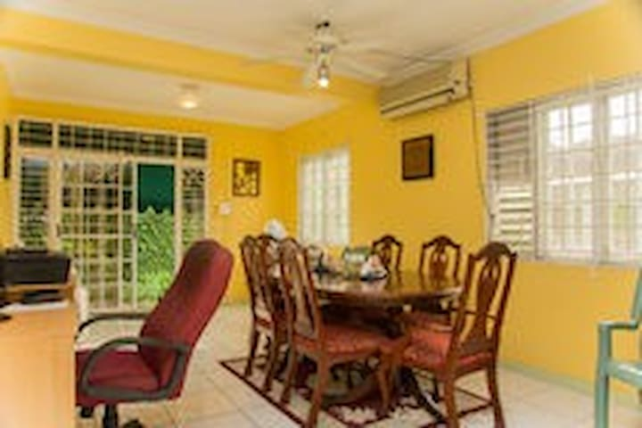 Spacious and Comfortable Dining Room