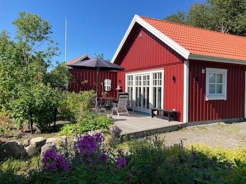 Hönshuset i Lerkil 4+1 bäddar Bäddsoffa 120x200 cm