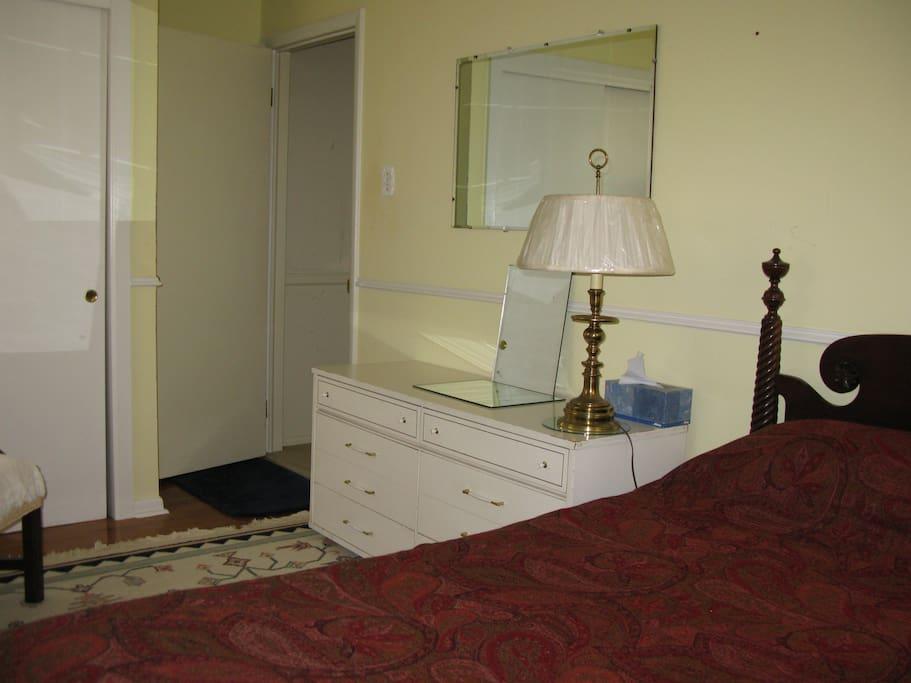 Your bedroom dresser