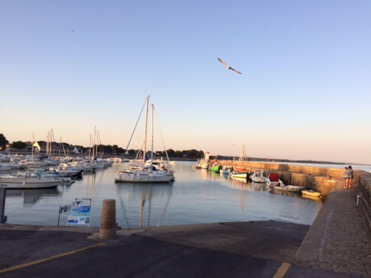 Port de Saint Jacques