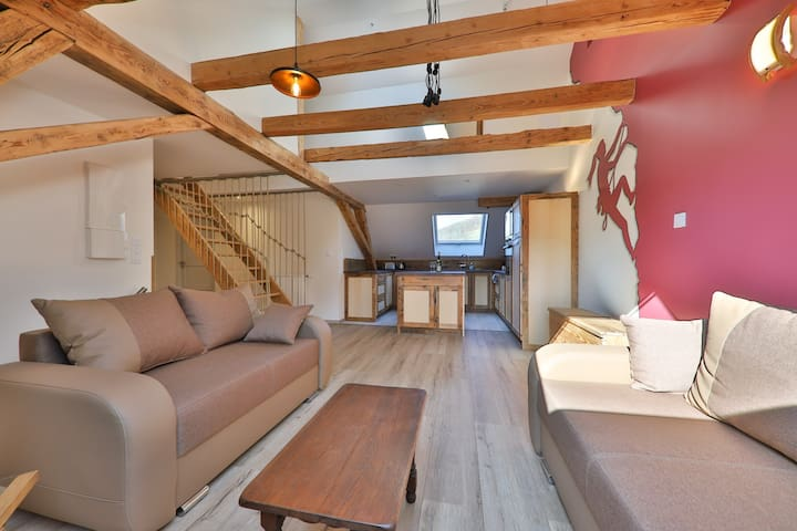 The House Hohneck 4* 300m²  15 people sauna, wifi
