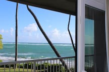 View from inside this condo