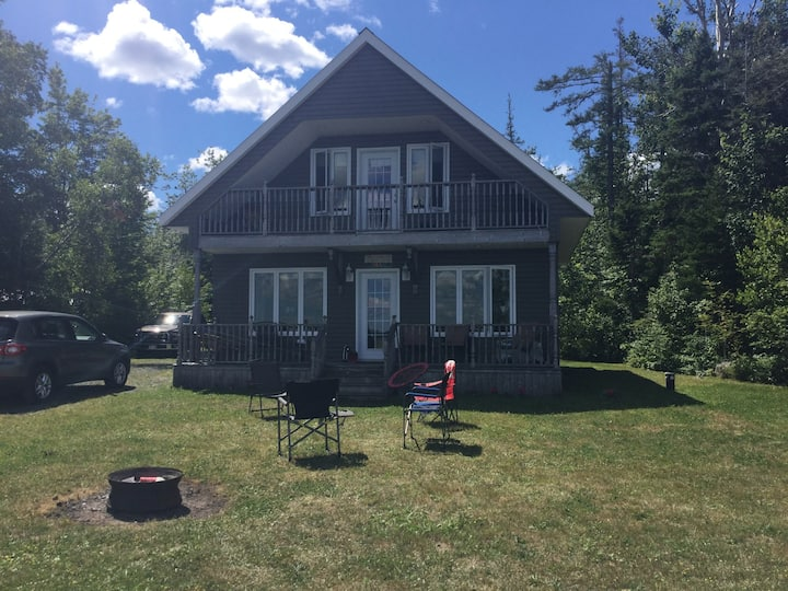 Waterfront Cottage - Cabins for Rent in Miramichi, New ...