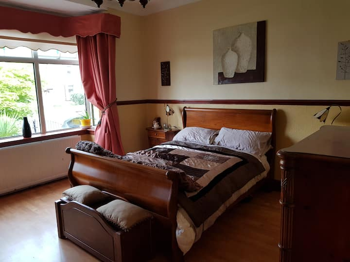 Double studio,  own bathroom and own living area .