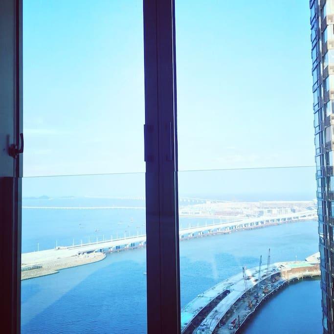 落地窗180°全海景
