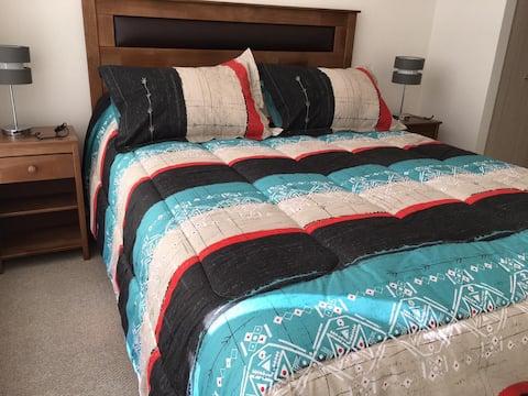 Depto nuevo 1 dormitorio, linda vista.