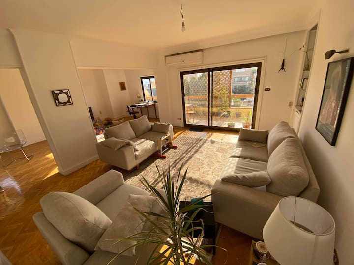 comfortable room in a Sunny, spacious apartment.