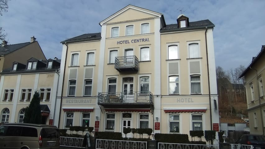 Gemütliche komfortable Doppelzimmer - Bad Elster - Bed & Breakfast