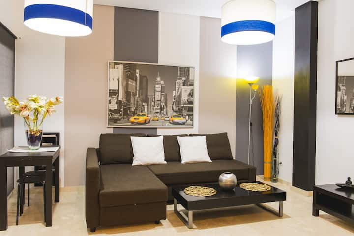Modern apartment in city centre. StaySAFE