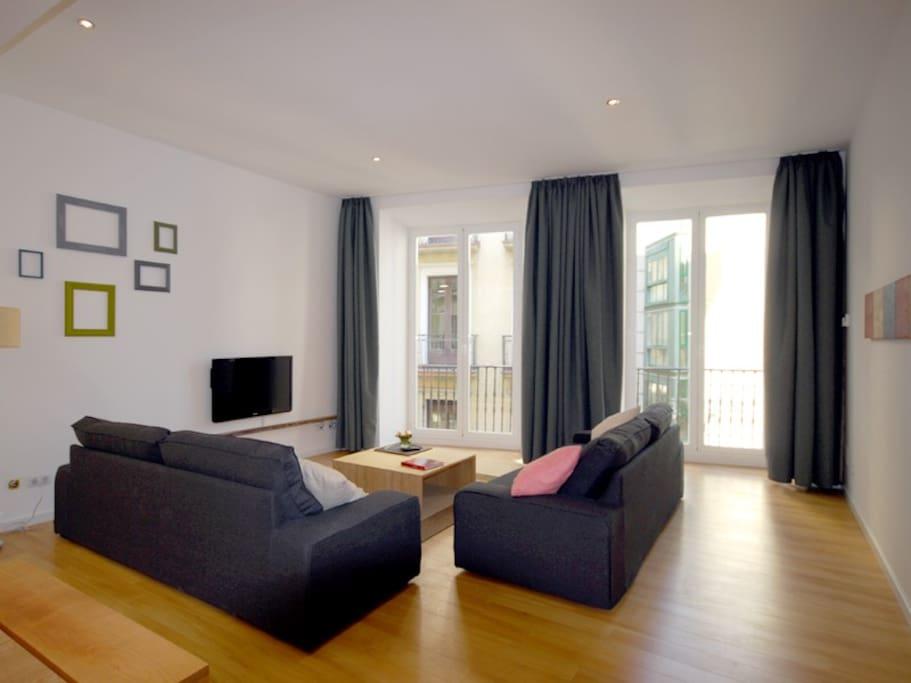 Apartamento mercaderes con encanto apartamentos en alquiler en pamplona navarre espa a - Alquiler apartamento pamplona ...