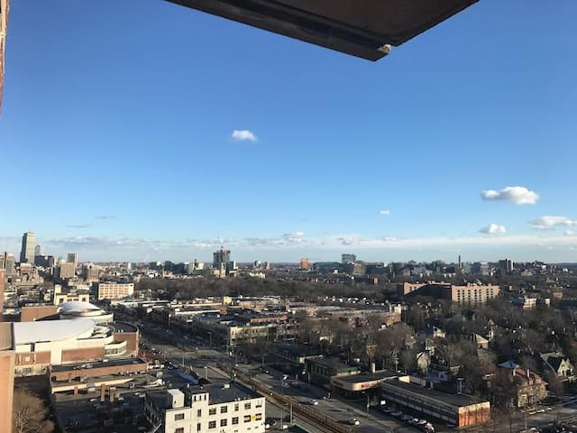 Scenic 18th floor Apt & Boston view - Boston - Apartment