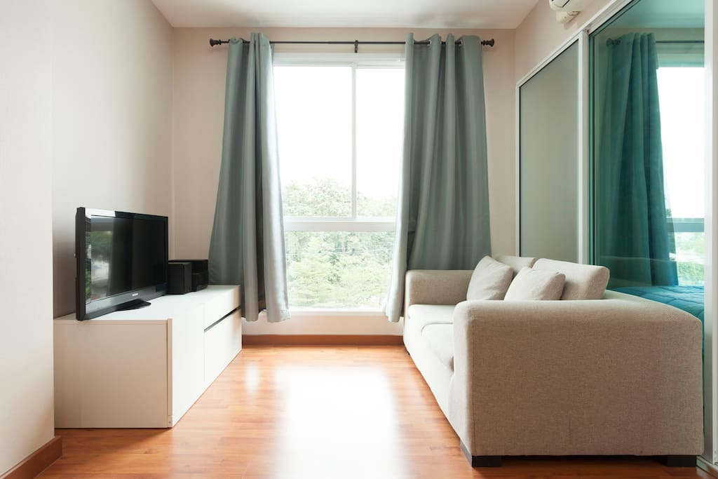 Relax! TV and Sofa for your free time!