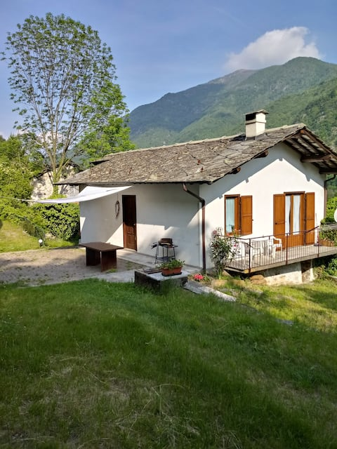 Tourism  in Valle Orco at the foot of  Gran Paradiso