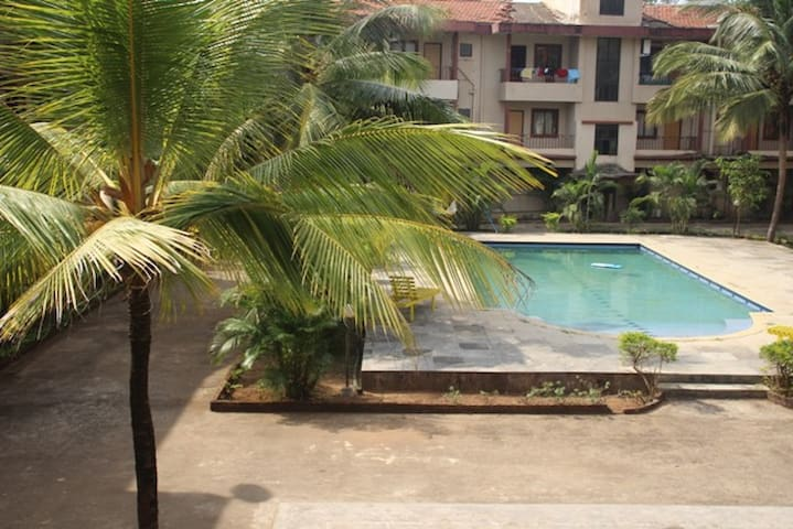 3 Bedroom Apartment with Pool - Siolim - อพาร์ทเมนท์