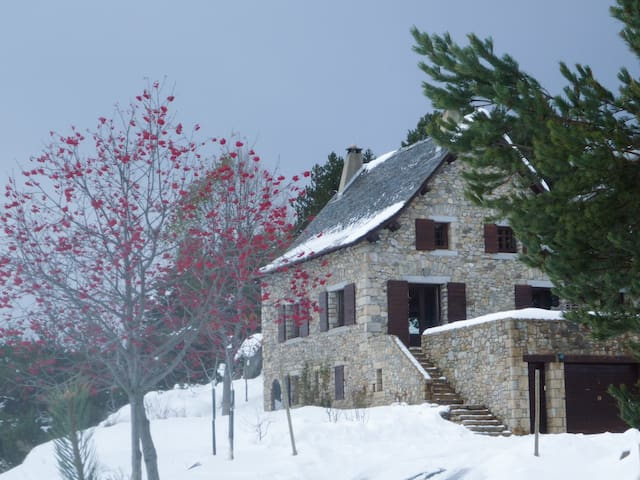 APPT  2 Pers sur pistes ski de fond - La Llagonne - Rumah