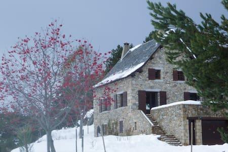 APPT  2 Pers sur pistes ski de fond - La Llagonne - Hus