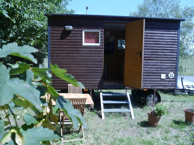 Tiny-House am Weser-Radweg