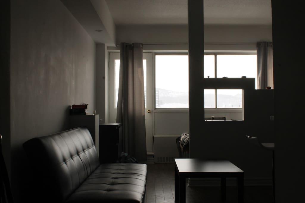 Appartement style loft avec une magnifique vue for Appartement type loft