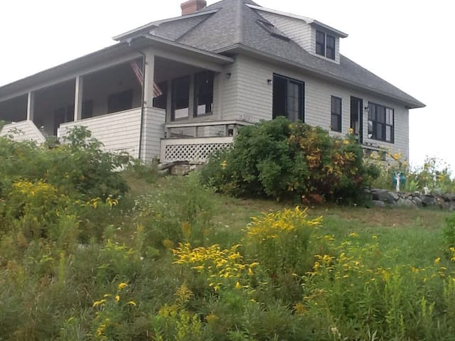 Beautiful large home overlooking Penobscot Bay