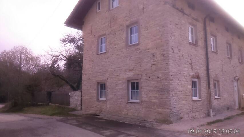 Jurahaus Solnhofen Wohnung 1 Erdgeschoss