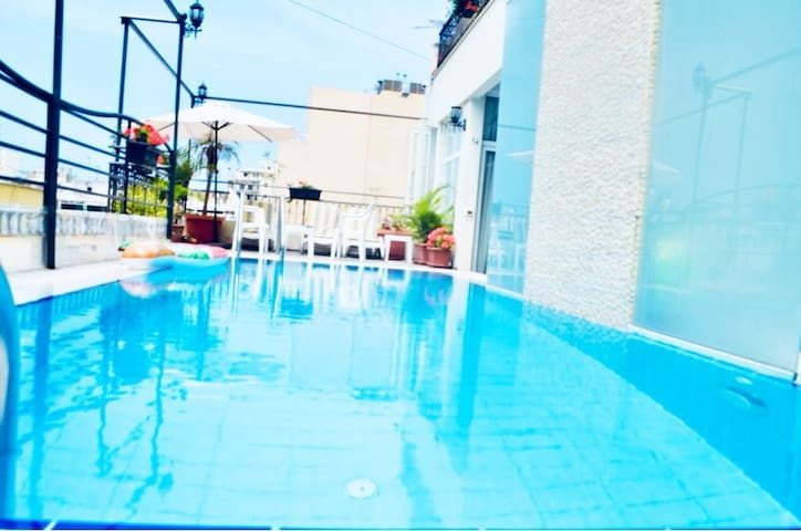 One Bedroom Apt. with pool access in Hamra!! #34