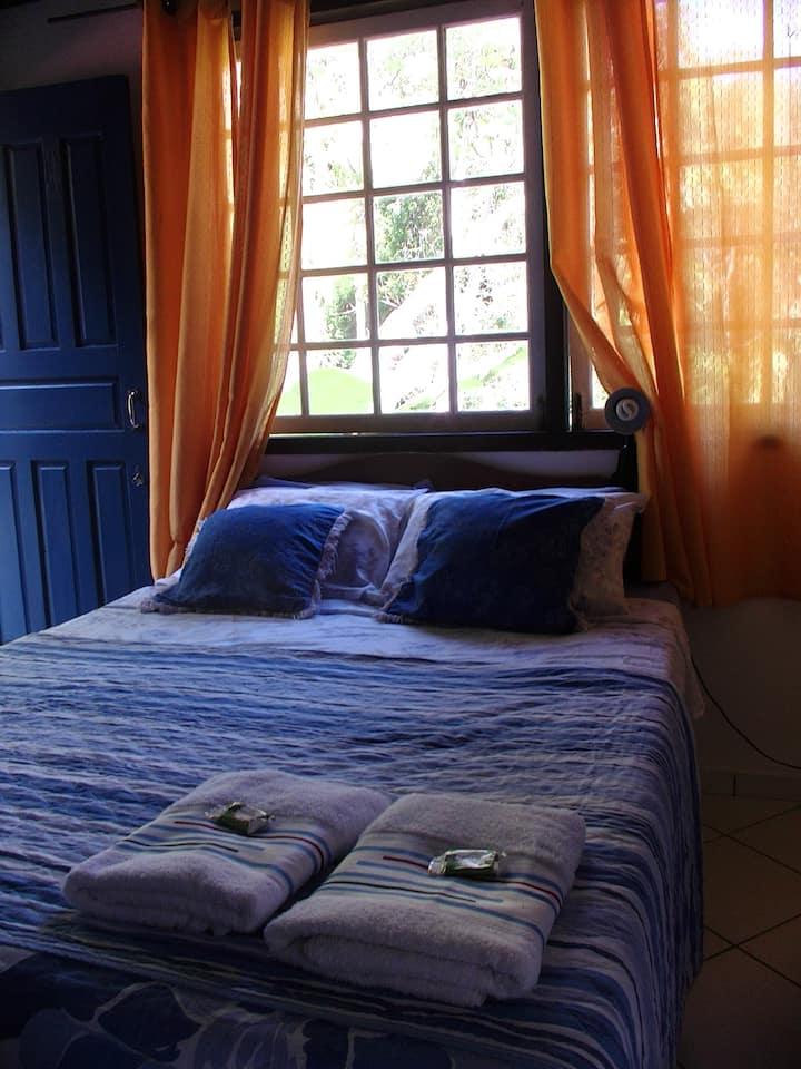 Suite azul em Ytororô o Som das Águas