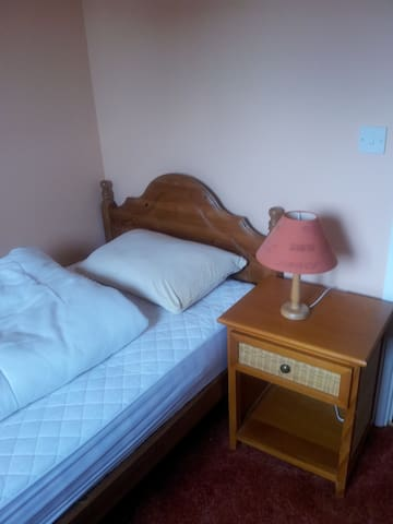 Comfortable room with single bed - Ashburton - Casa