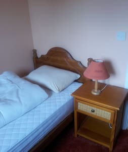 Comfortable room with single bed - Ashburton - Dom