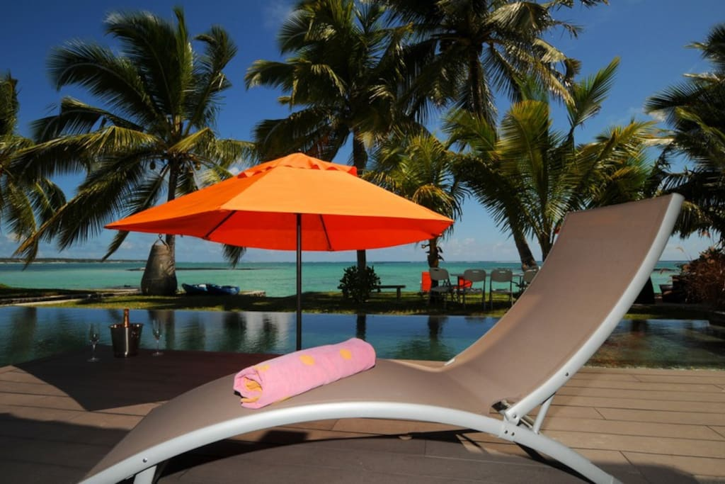 villa bellemare plage in mauritius from private to rent
