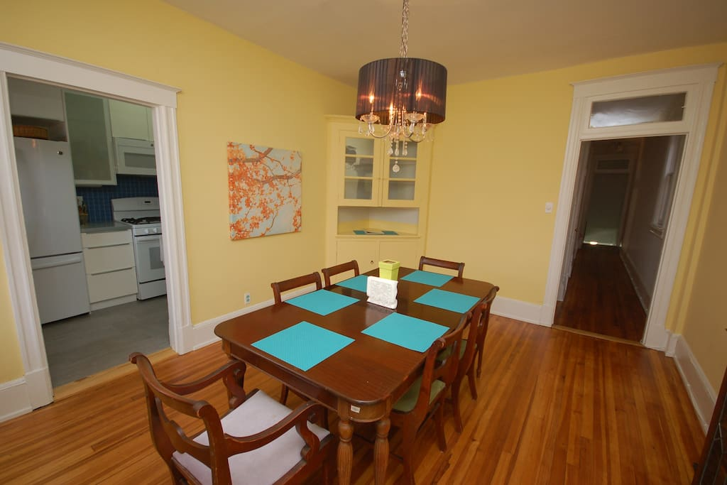 Dining Room- family meals and game night