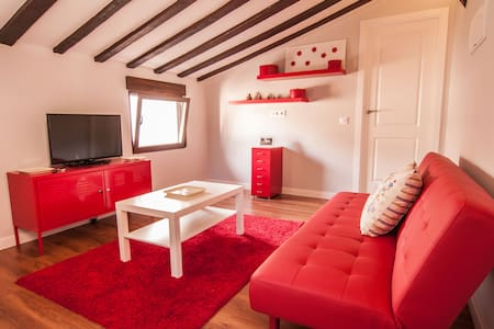 Casa roja en casco historico XVI - Toledo - Flat