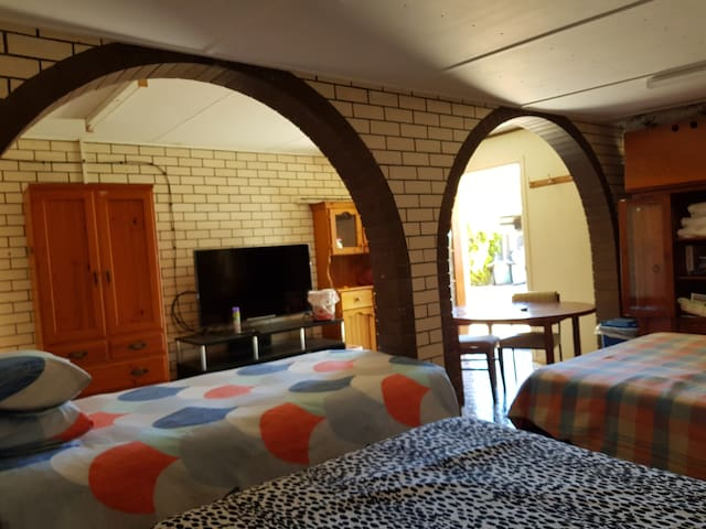 2 Queen and 1 single bed - Room 6 (wheel chair accessible)