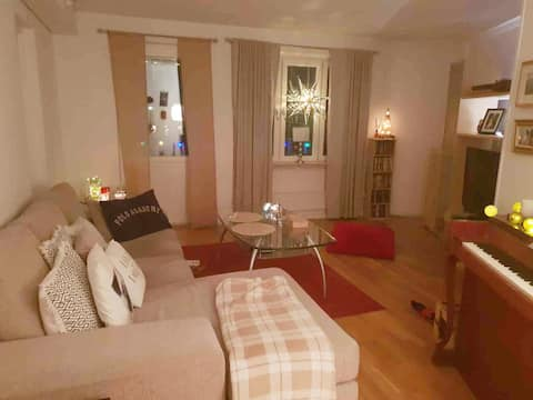 Cosy flat close to Globen and Tele2 arena