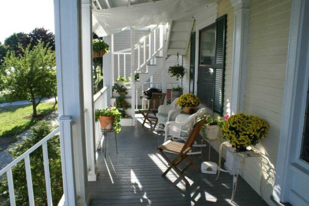 Front porch - unobstructed ocean view