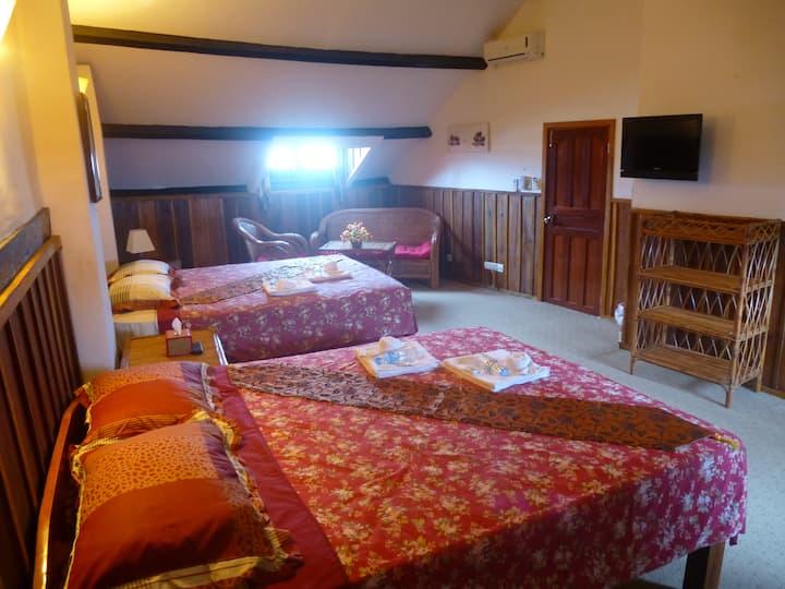 The Loft Room at Auberge du Soleil