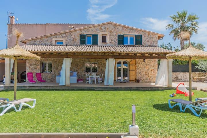 Precious little Villa for 6 guests - Alcúdia - Huis