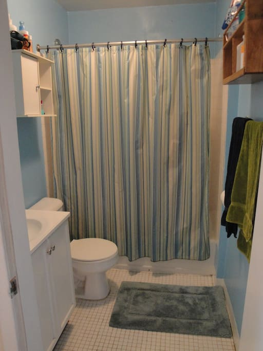 View of the bathroom from the outside.