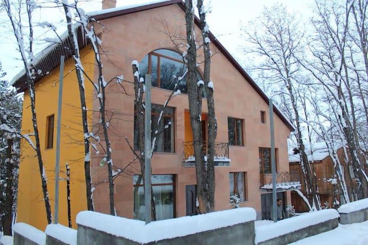 Tsaghkadzor house, skiing snowboard