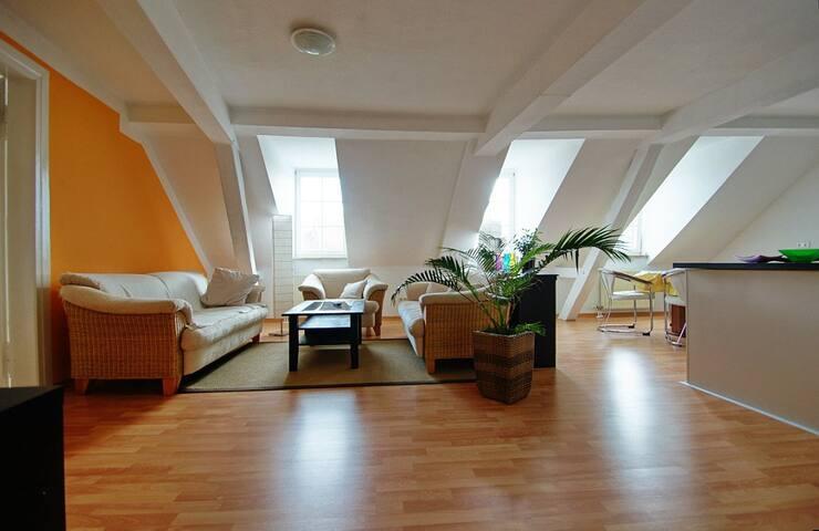 Hell freundlich 94qm im Zentrum! - Baden-Baden - Apartamento