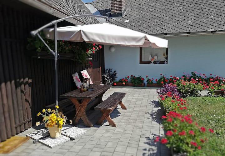 Studio s pogledom na vrt