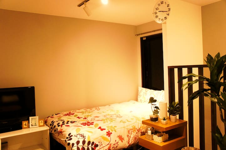 Cozy place in Shinagawa品川&Good Access Airport+WIFI - Shinagawa-ku - Lägenhet