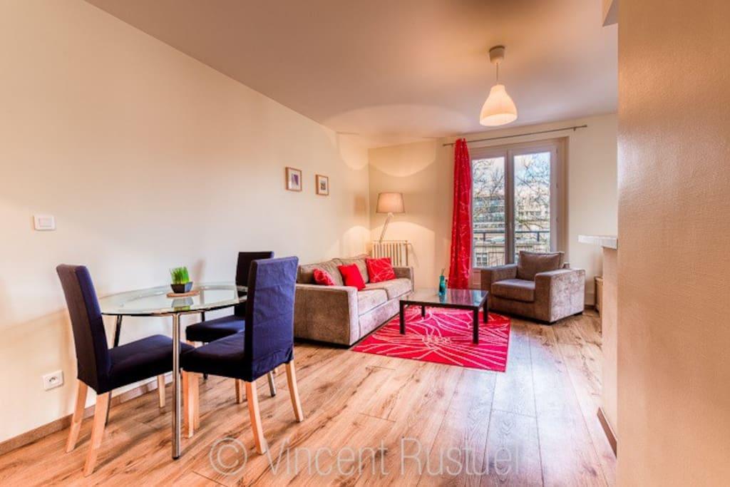 centre ville pr s emn halles 4 8pers appartements louer le havre haute normandie france. Black Bedroom Furniture Sets. Home Design Ideas