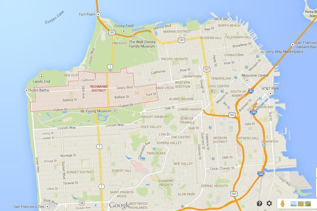 Great pocket of SF.